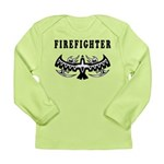 Firefighter Tattoos Long Sleeve Infant T-Shirt