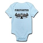 Firefighter Tattoos Infant Bodysuit