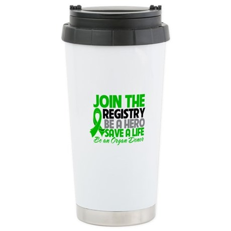 Join The Organ Donor Registry Ceramic Travel Mug