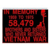 VIETNAM Wall Calendar