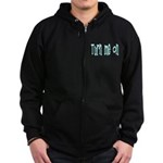 Turn Me On Zip Hoodie (dark)