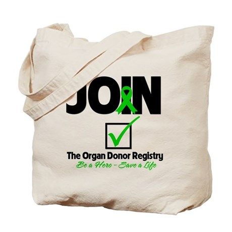 Be a Hero Join Registry Tote Bag