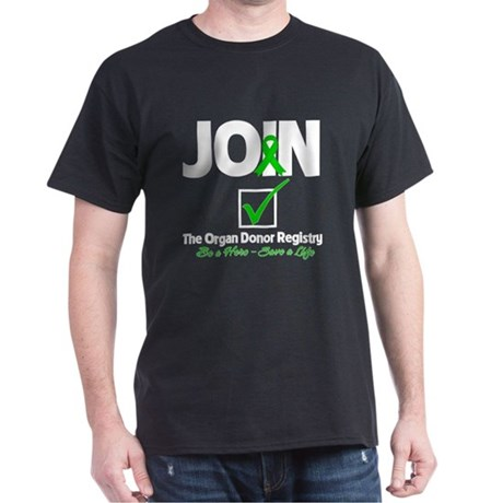 Be a Hero Join Registry Dark T-Shirt