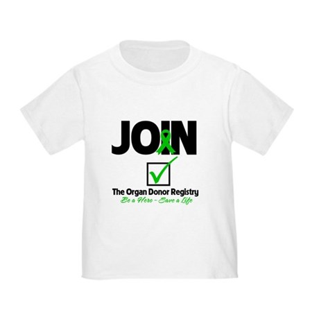 Be a Hero Join Registry Toddler T-Shirt