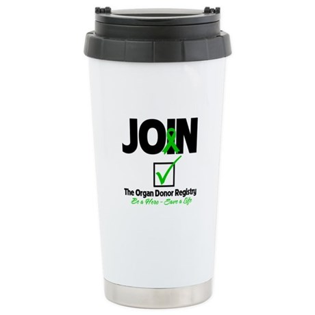 Be a Hero Join Registry Ceramic Travel Mug