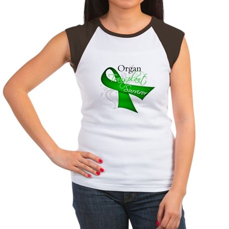 Organ Transplant Survivor Women's Cap Sleeve T-Shi