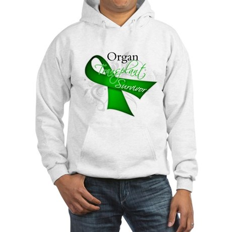 Organ Transplant Survivor Hooded Sweatshirt