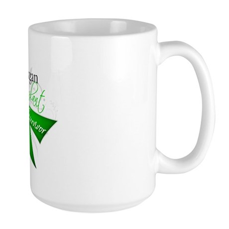 Organ Transplant Survivor Large Mug