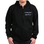 Cement Surfer Zip Hoodie (dark)