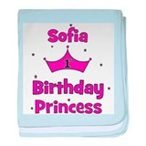 1st Birthday Princess Sofia! baby blanket