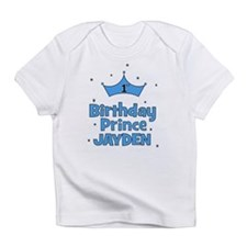 1st Birthday Prince - Jayden Infant T-Shirt