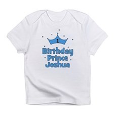 1st Birthday Prince JOSHUA! Infant T-Shirt