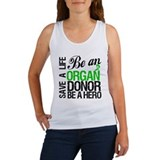 Be an Organ Donor Women's Tank Top