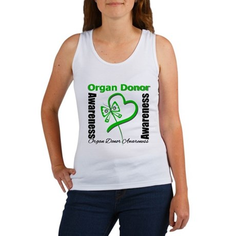 Awareness Organ Donor Women's Tank Top
