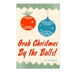 Grab Christmas By the Balls Postcards (8 pk)