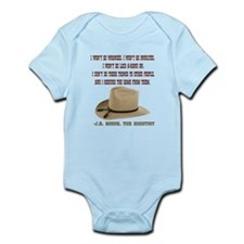 The Shootists Creed Infant Bodysuit