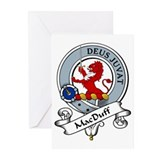 MacDuff Clan Badge Greeting Cards (Pk of 10)