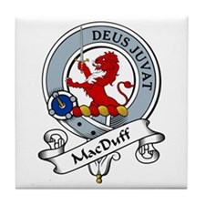 MacDuff Clan Badge Tile Coaster