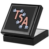 TSA- Hands-On Div Logo Keepsake Box