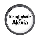 It's all about Alexia Wall Clock