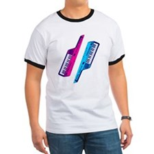 Corey Tiger 80s Retro Vintage Keytar T-Shirt