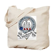 MacDonald Clan Badge Tote Bag