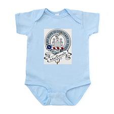 MacDonald Clan Badge Infant Creeper