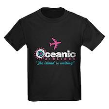 Oceanic Airlines Kids Dark T-Shirt
