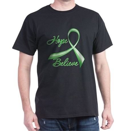Hope Believe Organ Transplant Dark T-Shirt