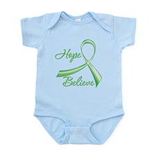 Hope Believe Organ Transplant Infant Bodysuit