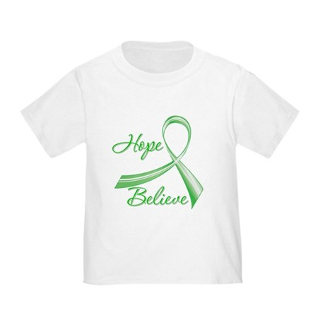Hope Believe Organ Transplant Toddler T-Shirt