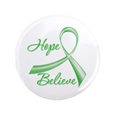 "Hope Believe Organ Transplant 3.5"" Button (100 pac"