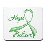 Hope Believe Organ Transplant Mousepad