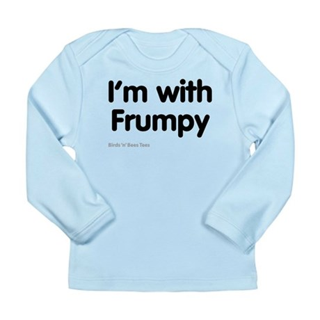 I'm With Frumpy Long Sleeve Infant T-Shirt