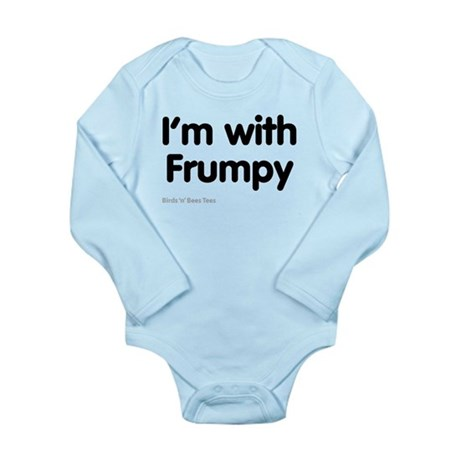 I'm With Frumpy Long Sleeve Infant Bodysuit