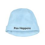 Poo Happens baby hat