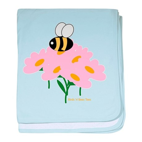 Twin A Bee baby blanket