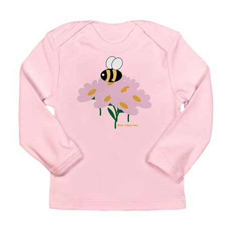 Twin A Bee Long Sleeve Infant T-Shirt