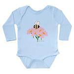 Twin A Bee Long Sleeve Infant Bodysuit