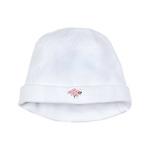 Twin B Bee baby hat