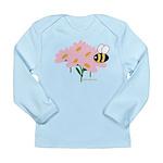 Twin B Bee Long Sleeve Infant T-Shirt