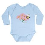 Twin B Bee Long Sleeve Infant Bodysuit