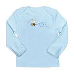 1st Bee Loop Long Sleeve Infant T-Shirt