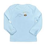 2nd Bee Loop Long Sleeve Infant T-Shirt