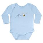 2nd Bee Loop Long Sleeve Infant Bodysuit