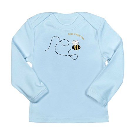 2nd Bee Flying Fancy Long Sleeve Infant T-Shirt