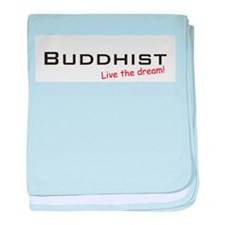 Buddhist / Dream! baby blanket