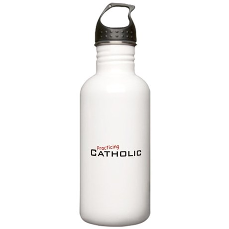 Practicing Catholic Stainless Water Bottle 1.0L