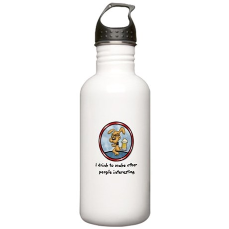 I drink to make.. Stainless Water Bottle 1.0L