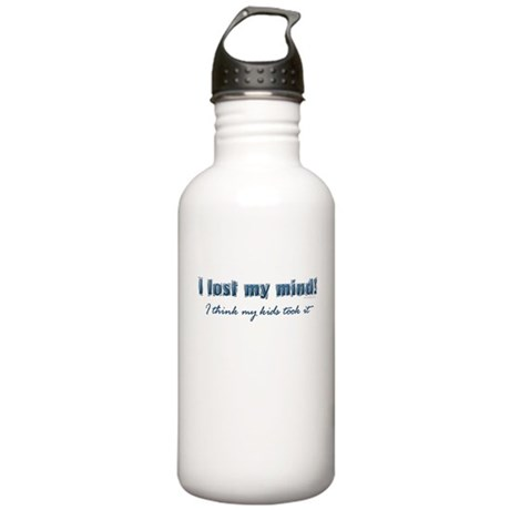I Lost My Mind ... Stainless Water Bottle 1.0L